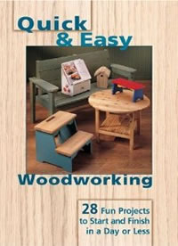 quick easy wood projects